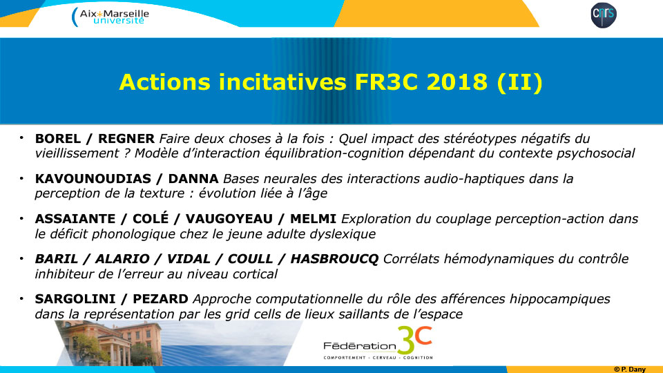 FR3c Actions incitatives FR3C 2018 (II)